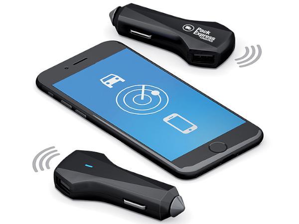 Chargeur USB pour Voiture avec Géolocalisation