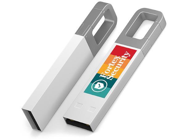 Clé USB Colorée à Accrocher Partout - visuel 2