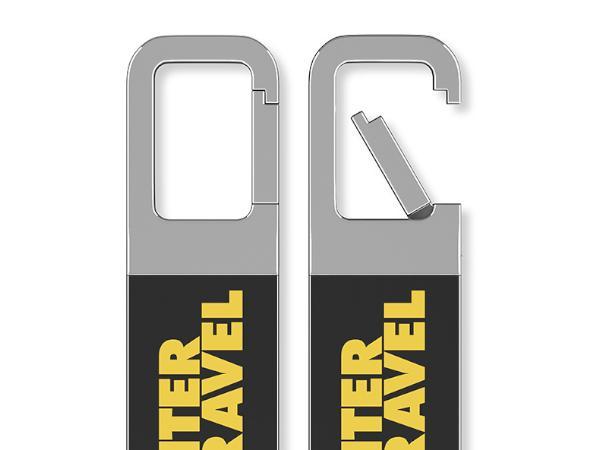 Clé USB Colorée à Accrocher Partout - visuel 3
