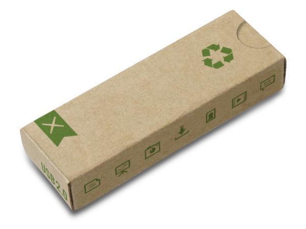 Clé USB en Divers matériaux Recyclés ou Biodégradables - visuel 3