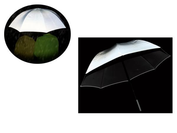 Parapluie Golf avec Revêtement Réflechissant