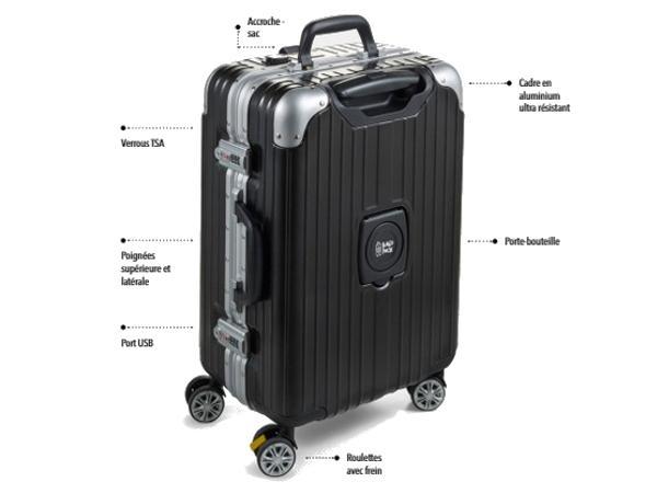 Valise à Coque Rigide avec Verrou TSA
