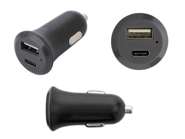 Prise Allume-Cigare Double Sortie USB et USB C