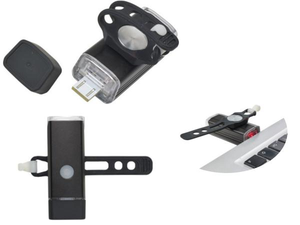Lampe à Vélo Amovible et Magnétique - visuel 2