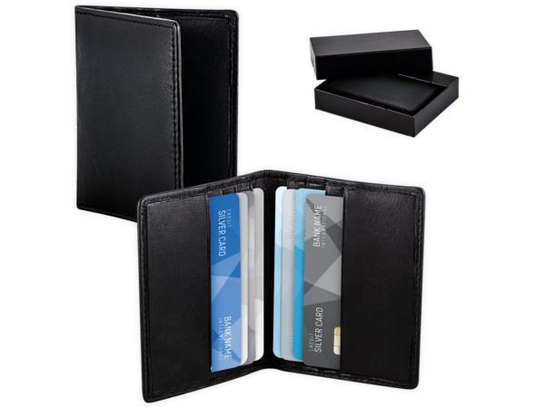 Porte-Cartes de Crédit en Cuir Anti RFID