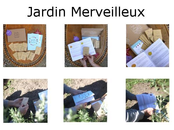 Coffret de Graines Bio Jardin Merveilleux 10 Sachets - visuel 3