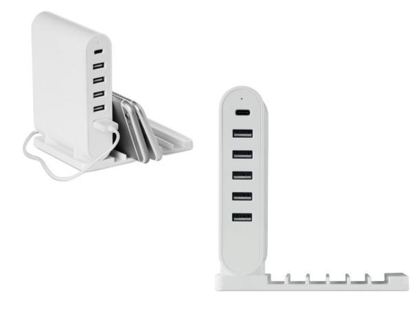 Station de Chargement Pliable avec 5 ports USB