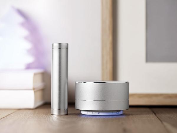 Ensemble Powerbank 2200 mAh et Haut-Parleur Bluetooth - visuel 1