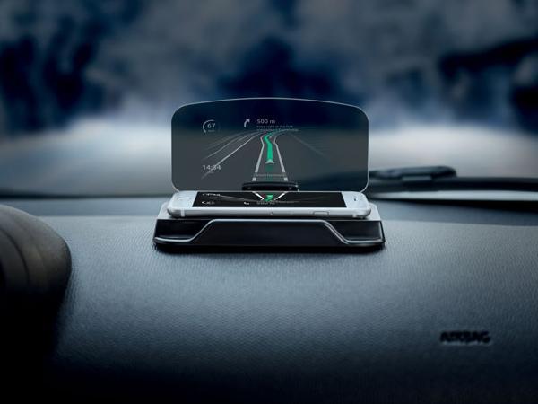 Support de Téléphone avec Ecran pour Navigation tête Haute