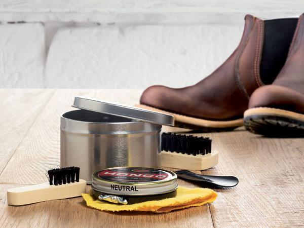 Cirage Nécessaire à Chaussures 5 accessoires