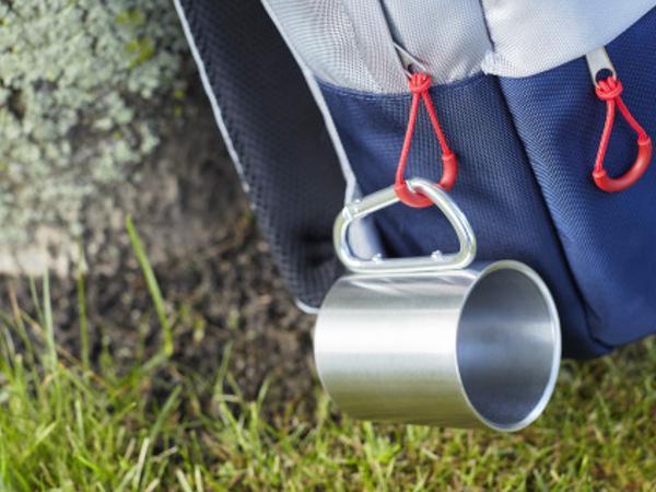 Mug Double Paroi avec Mousqueton