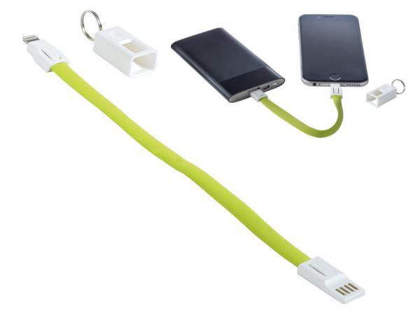 Câble de Charge USB-C, micro USB et USB Lightning de 22 cm