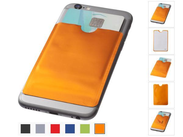 Porte Carte RFID Pour Smartphone. Feuille d'aluminium.