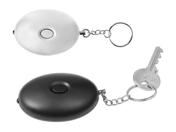 Porte-Clés Anti-Agression avec Alarme et LED .100 dB