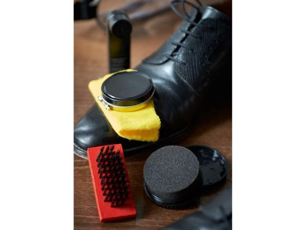 Kit de Nettoyage de Chaussures dans une Trousse