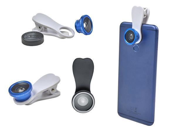 Lentille Amovible 180° pour Smartphone