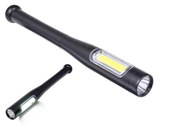 Double Torche en Métal avec LEDS COB