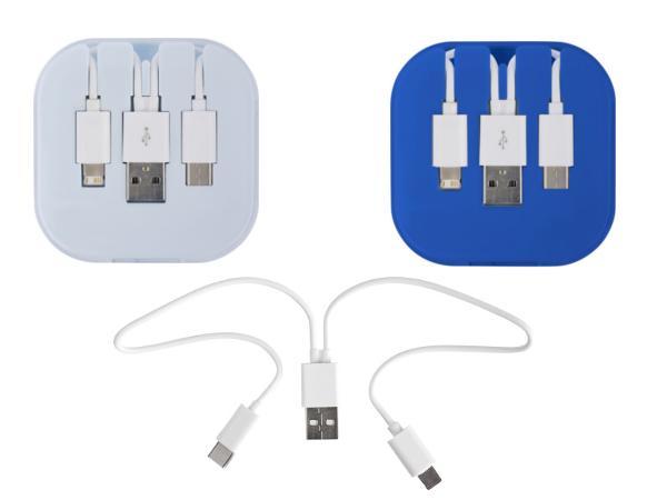 Kit de 3 Câbles de Charge dans un Ecrin
