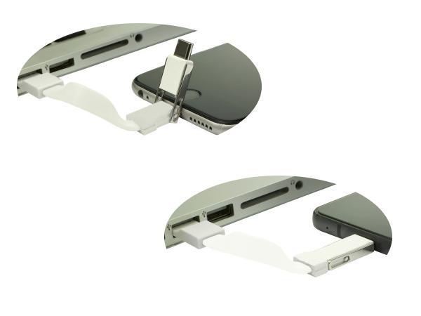Porte-Clés avec Câble USB et Câble USB-C/Lightning - visuel 2