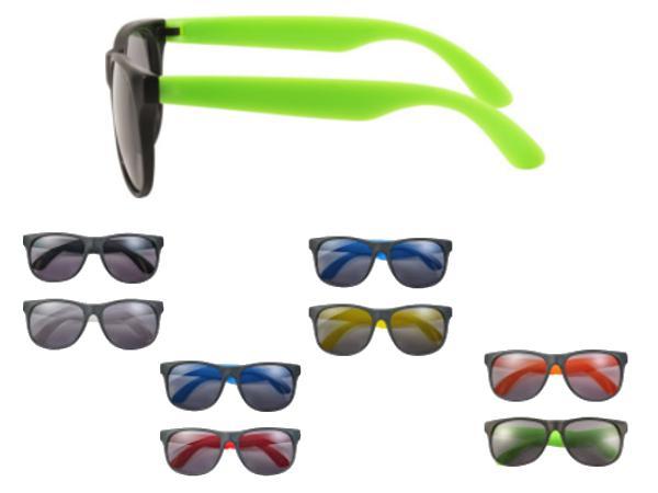 Lunettes de Soleil Bicolore aux Normes UV 400
