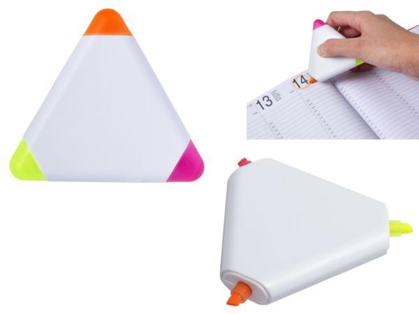 Surligneur Triangulaire 3 Couleurs