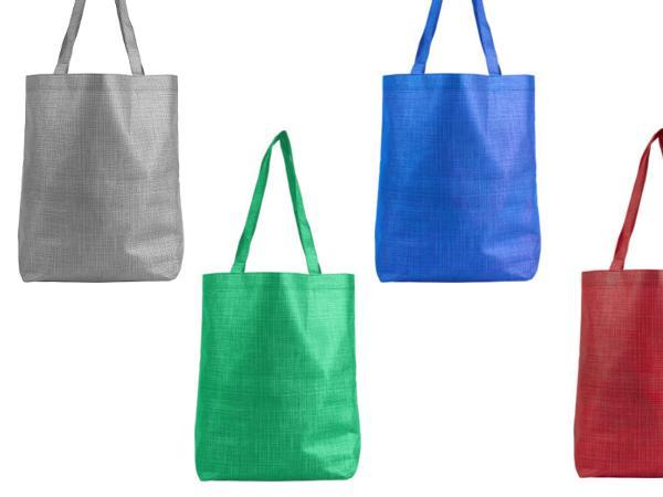 Sac Shopping en Non-Tissé à Anses Longues - visuel 1