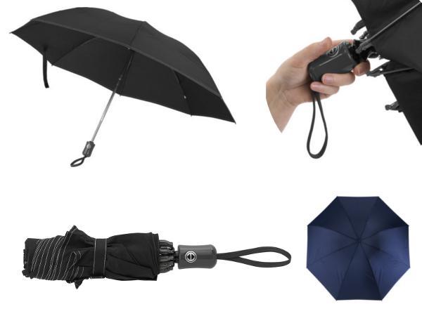 Parapluie Réversible Pliable avec Ouverture et Fermeture Automat - visuel 1
