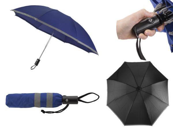 Parapluie Réversible Pliable avec Ouverture et Fermeture Automat