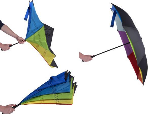 Parapluie Réversible avec Ouverture Automatique  - visuel 2
