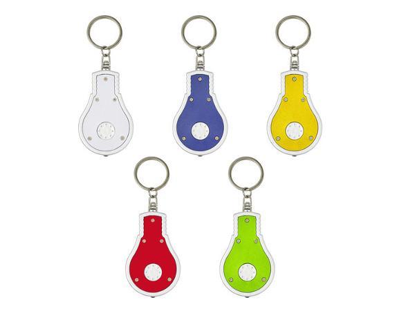 Porte-clés Torche en Plastique