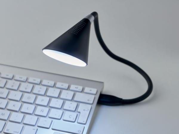 Lampe Tactile avec Haut Parleur Bluetooth 5 W - visuel 2