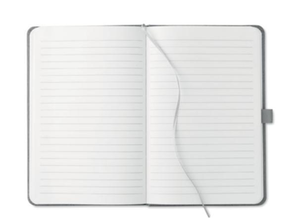 Carnet A5 avec 80 Pages Lignées et Couverture à Motif Bois - visuel 2