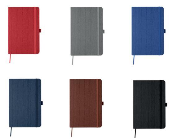 Carnet A5 avec 80 Pages Lignées et Couverture à Motif Bois - visuel 3