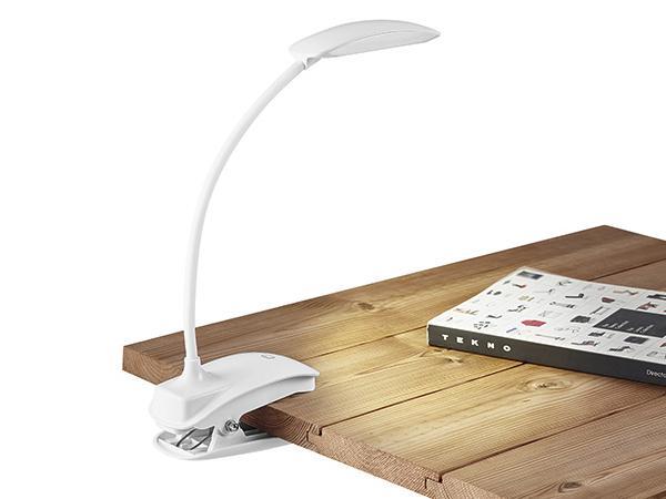 Lampe de Table avec Pince et Bras Flexible