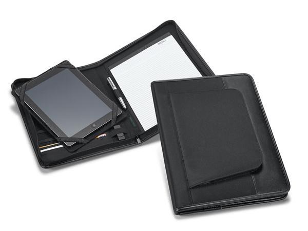 Conférencier A4 en Simili Cuir avec Support Tablette