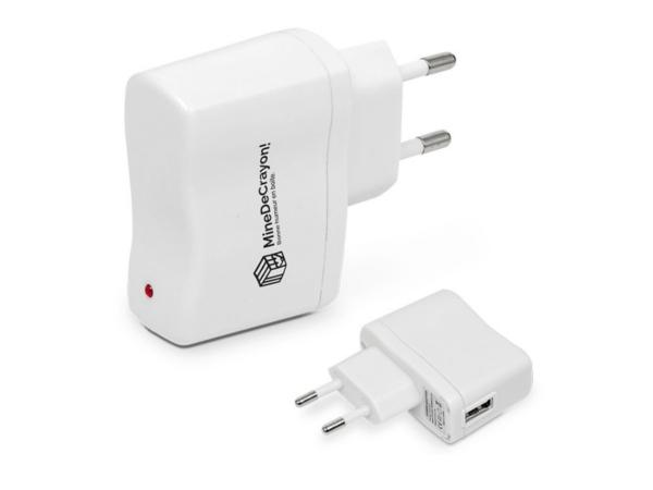 Chargeur Adaptateur Secteur USB Universel