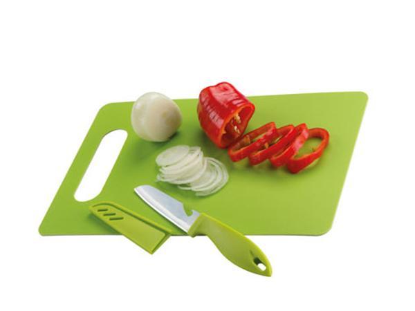 Planche à Découper et Couteau