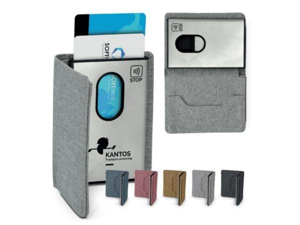 Porte Carte en Métal avec Protection Anti-RFID