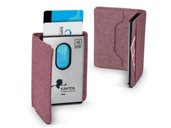 Porte Carte en Métal avec Protection Anti-RFID - visuel 2