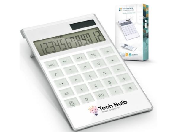 Calculatrice Solaire ou Pile