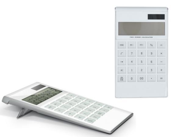 Calculatrice Solaire ou Pile - visuel 2