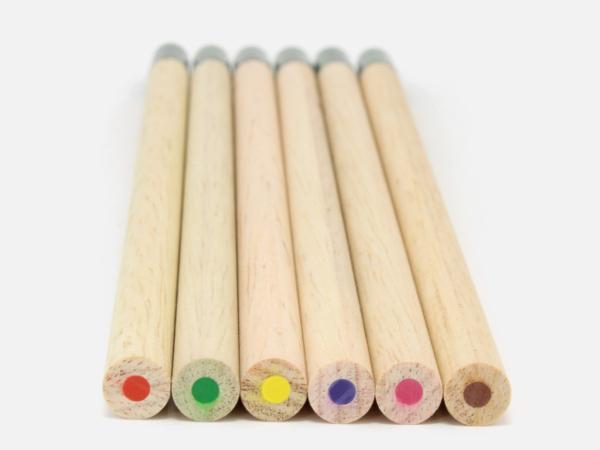 Coffret de 6 Crayons de Couleur à Graines  - visuel 2