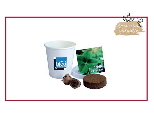 Kit de Plantation dans un Pot en Carton de 6 cm