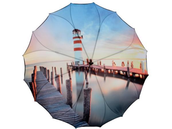 Parapluie Automatique avec Toile Sans Coutures