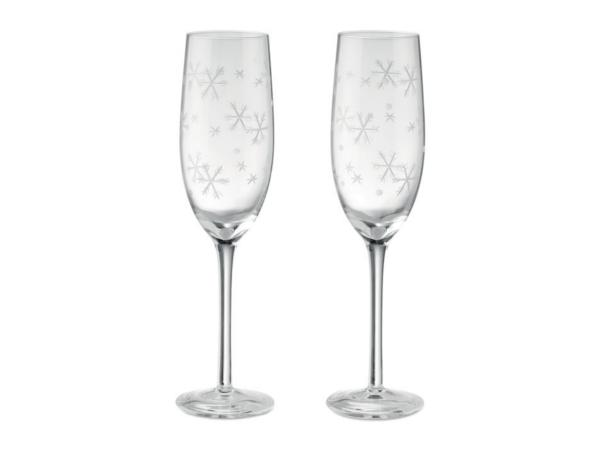 Ensemble de 2 Flûtes à Champagne - visuel 2