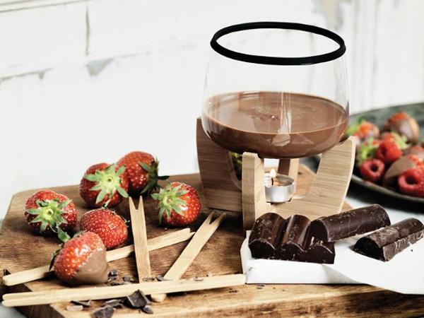 Set à Fondue au Chocolat 4 Personnes