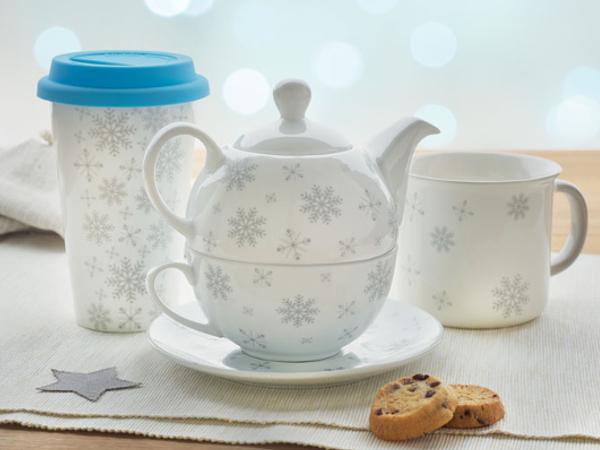 Service à Thé dans une Boîte Cadeau