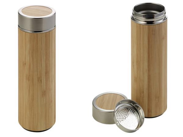 Bouteille Thermos en Bambou 420 ml
