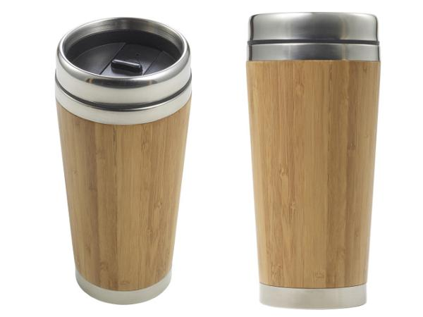 Tasse Thermos en Bambou 400 ml