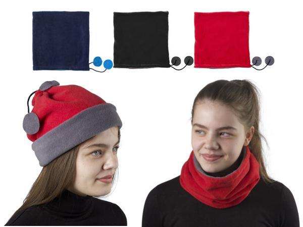 Bonnet et Écharpe Polaire